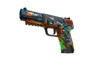 Five-SeveN | Angry Mob (Battle-Scarred)