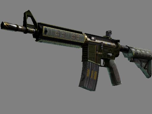StatTrak™ M4A4   The Battlestar (Well-Worn)