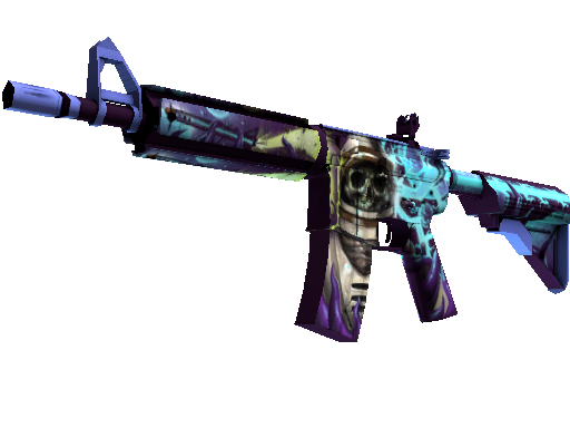 StatTrak™ M4A4 | Desolate Space (Minimal Wear)