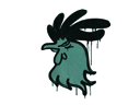 Sealed Graffiti | Cocky (Frog Green)