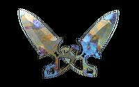 ★ Shadow Daggers | Case Hardened (Minimal Wear)