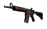 M4A4 | Tooth Fairy (Battle-Scarred)