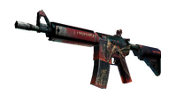 StatTrak™ M4A4 | Tooth Fairy (Well-Worn)