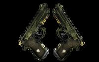 StatTrak™ Dual Berettas | Retribution (Minimal Wear)