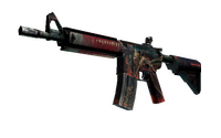StatTrak™ M4A4 | Tooth Fairy (Battle-Scarred)