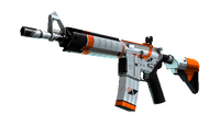 StatTrak™ M4A4 | Asiimov (Well-Worn)