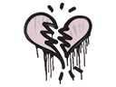 Sealed Graffiti | Broken Heart (War Pig Pink)