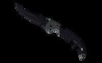 ★ Falchion Knife   Blue Steel (Battle-Scarred)