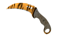 ★ StatTrak™ Talon Knife | Tiger Tooth (Factory New)