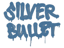 Sealed Graffiti   Silver Bullet (Monarch Blue)