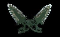 ★ StatTrak™ Shadow Daggers   Forest DDPAT (Field-Tested)