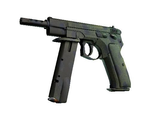 CZ75-Auto | Jungle Dashed (Minimal Wear)