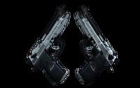 StatTrak™ Dual Berettas | Dezastre (Well-Worn)