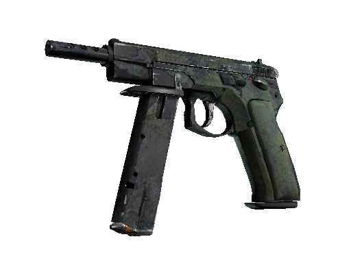 CZ75-Auto | Jungle Dashed (Battle-Scarred)