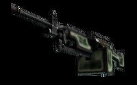 StatTrak™ M249 | Deep Relief (Well-Worn)