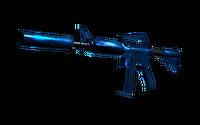 M4A1-S | Blue Phosphor (Minimal Wear)