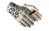 ★ Driver Gloves | Snow Leopard (Well-Worn)
