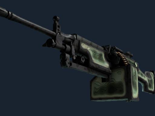 StatTrak™ M249 | Deep Relief (Minimal Wear)