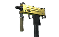 MAC-10 | Gold Brick (Field-Tested)