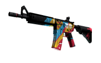 StatTrak™ M4A4 | Cyber Security (Minimal Wear)