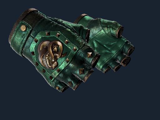 ★ Broken Fang Gloves | Jade (Well-Worn)
