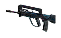 FAMAS | Prime Conspiracy (Battle-Scarred)