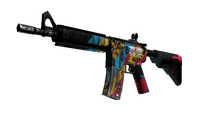 StatTrak™ M4A4 | Cyber Security (Battle-Scarred)