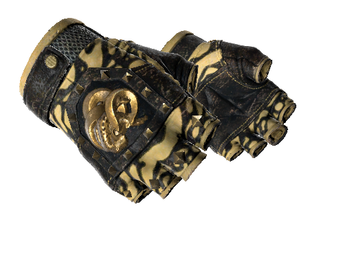 ★ Broken Fang Gloves   Yellow-banded (Well-Worn)