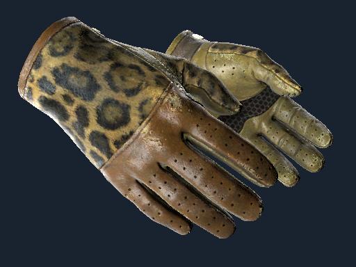 ★ Driver Gloves | Queen Jaguar (Well-Worn)
