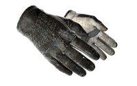 ★ Driver Gloves | Black Tie (Battle-Scarred)
