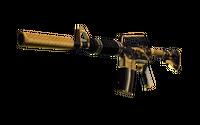 M4A1-S | Golden Coil (Minimal Wear)