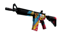 M4A4 | Cyber Security (Minimal Wear)