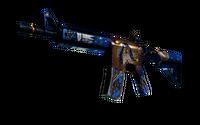 StatTrak™ M4A4   The Emperor (Well-Worn)