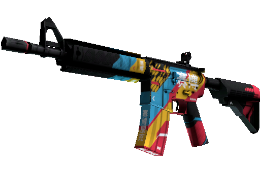 M4A4   Cyber Security (Factory New)