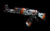 StatTrak™ AK-47   Asiimov (Battle-Scarred)