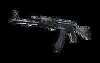Souvenir AK-47 | Black Laminate (Minimal Wear)