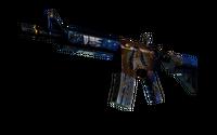 StatTrak™ M4A4 | The Emperor (Battle-Scarred)
