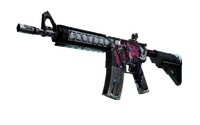 StatTrak™ M4A4 | Neo-Noir (Well-Worn)