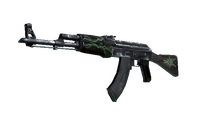 AK-47 | Emerald Pinstripe (Field-Tested)