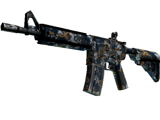 M4A4 | Global Offensive (Well-Worn)