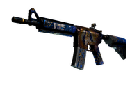 M4A4   The Emperor (Battle-Scarred)