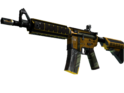 StatTrak™ M4A4 | Buzz Kill (Battle-Scarred)