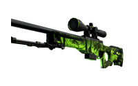AWP | Containment Breach (Well-Worn)