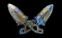 ★ Shadow Daggers | Case Hardened (Field-Tested)