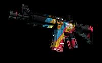 M4A4   Cyber Security (Minimal Wear)