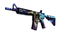 M4A4   Desolate Space (Well-Worn)