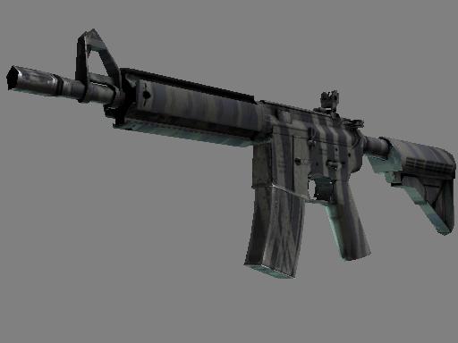 StatTrak™ M4A4 | Faded Zebra (Minimal Wear)