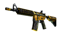 StatTrak™ M4A4   Buzz Kill (Minimal Wear)