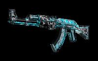 AK-47 | Frontside Misty (Well-Worn)