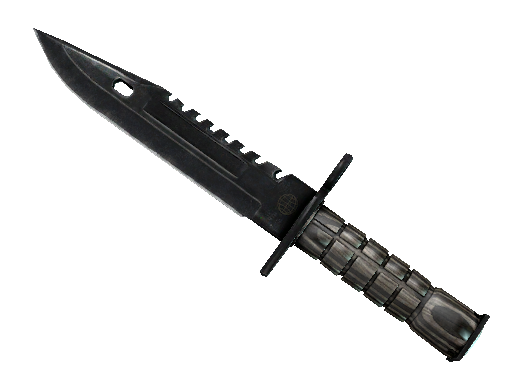 ★ M9 Bayonet | Black Laminate (Well-Worn)